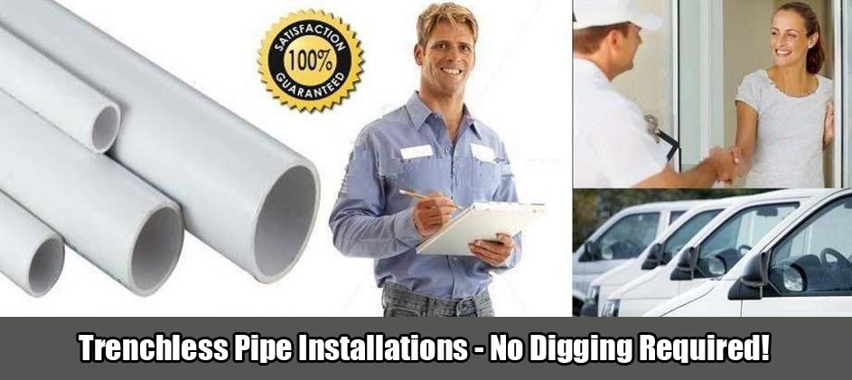 Cole Plumbing, Inc. Trenchless Pipe Installation